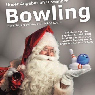 weihnachtbowling